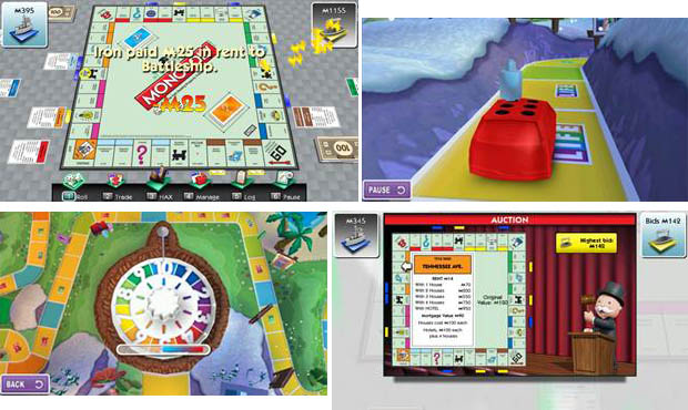 EA Monopoly and The Game of Life apps for Samsung Smart TVs