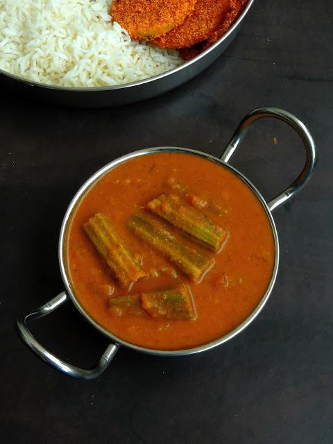 Goan Sangacho Ross, Drumstick Curry