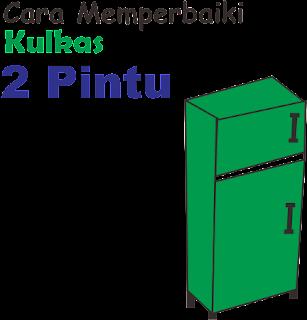 Langkah - Langkah Cara Memperbaiki Kulkas 2 Pintu