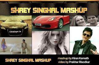 Download ShreySinghal Mashup by DJ KIRAN KAMATH