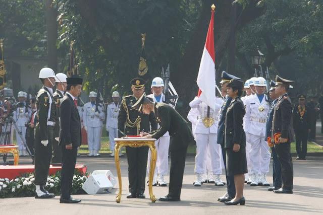 Pesan Presiden Jokowi: Perwira Remaja, Agar Jangan Takut Dikritik
