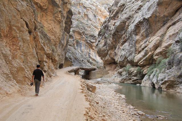 Ouzbékistan, Derbent, rivière Shurob, © L. Gigout, 2012