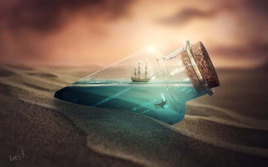 13-Ship-in-a-bottle-Rafy-A-www-designstack-co