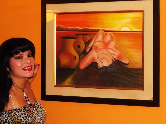 Lineth Márquez Pintora Panameña: Orgullosa Etnia Negra Por