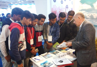 Industrial Visit to International Engineering & Technology Fair 2017 by B Tech Students