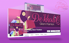 Design Facebook Cover Photo De'khaliq Glam Fashion