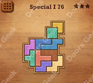 Cheats, Solutions, Walkthrough for Wood Block Puzzle Special I Level 76
