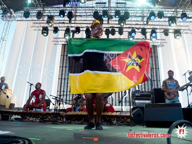 Timbila Muzimba  @FMM Sines 2018