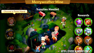 FarmVille 2: Country Escape, Mine, Mining Shaft, Ore
