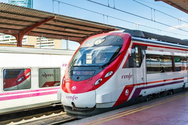 Trem de alta velocidade em Madri