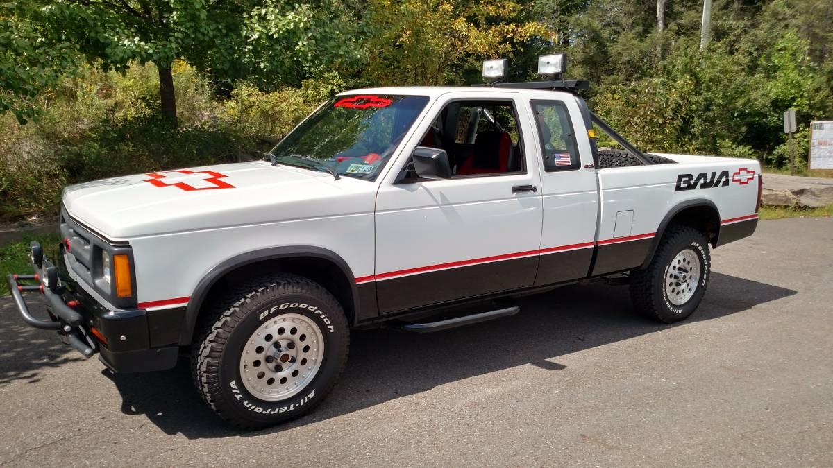 Mint Baja: 1991 Chevrolet S10 4X4