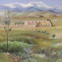 pinturas paisajes óleos lienzo