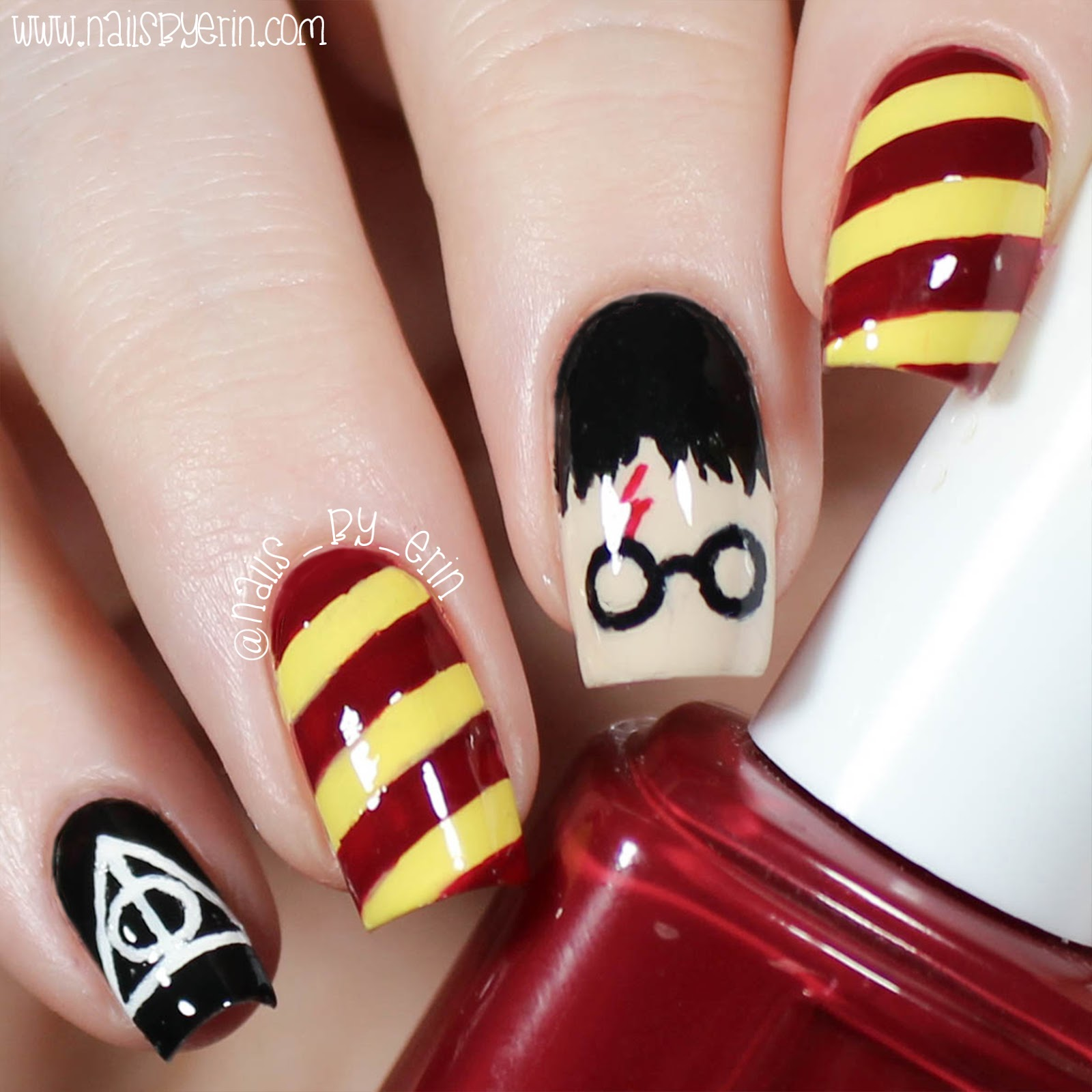 Nailsbyerin Harry Potter Nails Nailsbyerin