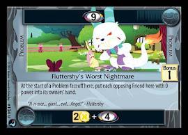 My Little Pony Fluttershy's Worst Nightmare High Magic CCG Card