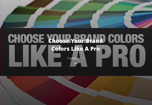Willow Web Weavers: Choosing colours for your branding