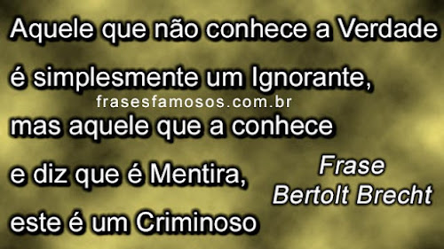 Frases Bertolt Brecht