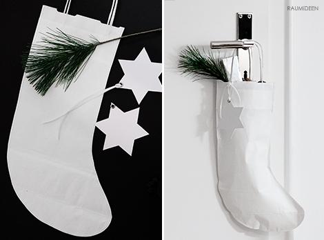 Nikolausverpackungen zum Selbermachen - Nikolausstrümpfe basteln!