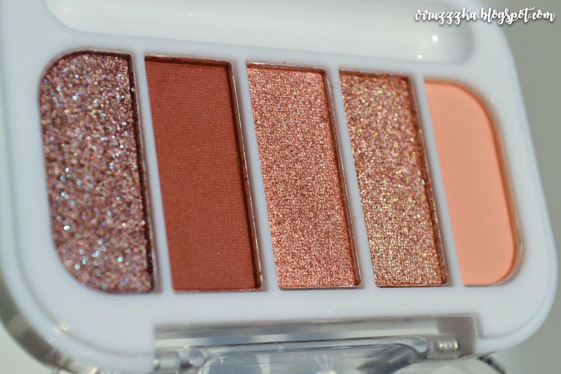 Ipsy Glam Bag PACIFICA BEAUTY Wild Hemp Eye Shadows Review Photos