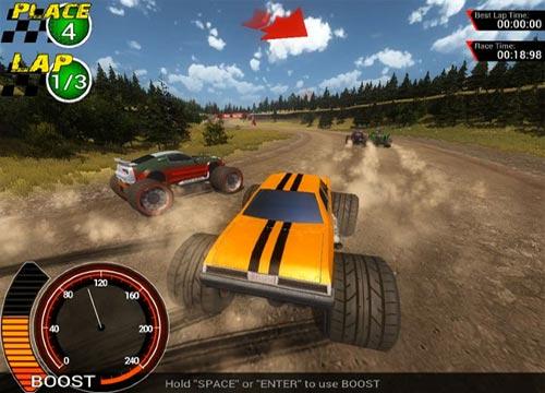 لعبة سباق عربيات Off-Road Super Racing للكمبيوتر مجانا