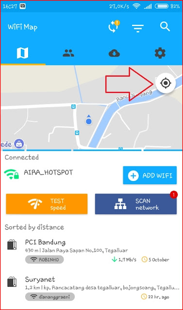 Mengatasi Lokasi Error Wifi Map