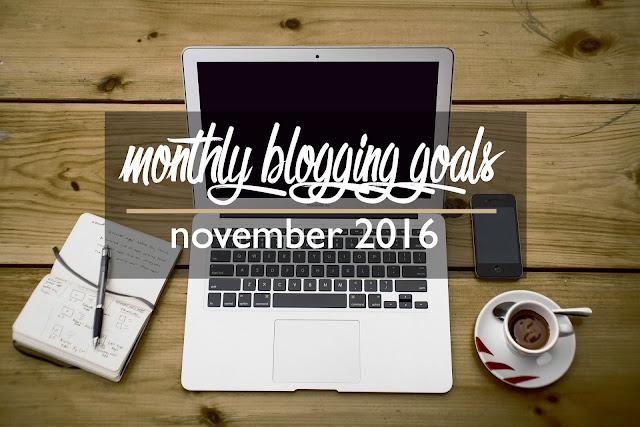 Monthly Blog Goals: November 2016 | CosmosMariners.com