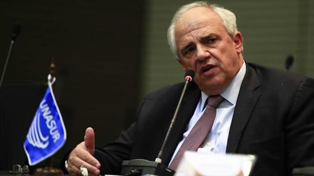 """Samper llama al cese del """"fuego mediático"""" en Venezuela"""