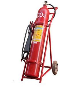Bình chữa cháy xe đẩy CO2 24kg MT24