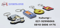 Gantungan Kunci Karet - Rubber Keychain