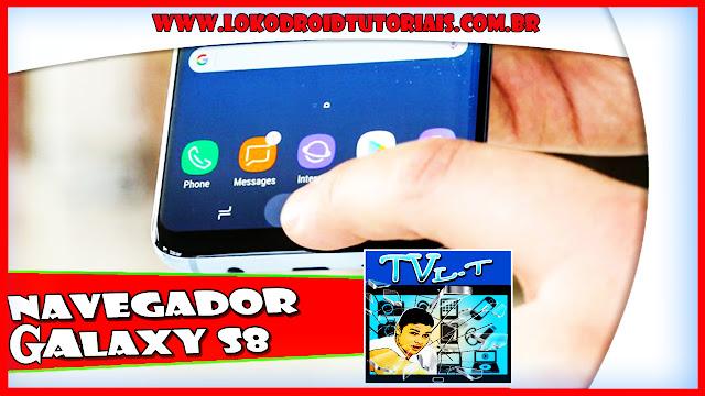 Navegador RÁPIDO do Galaxy S8 no seu Smartphone