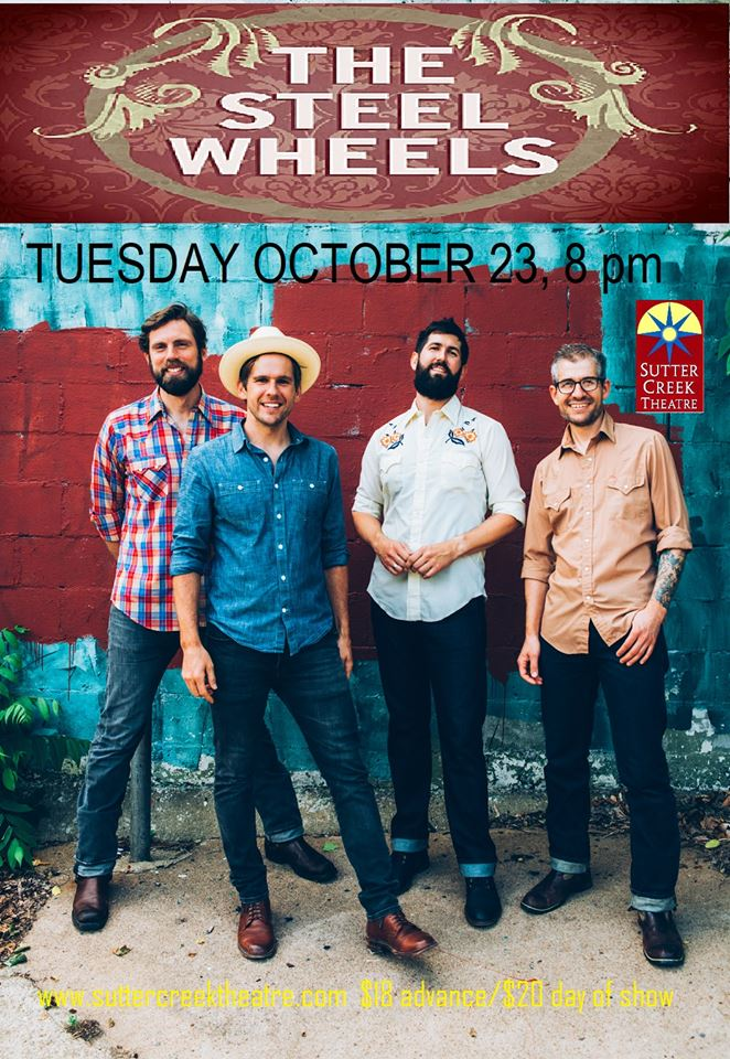 The Steel Wheels - Tues Oct 23