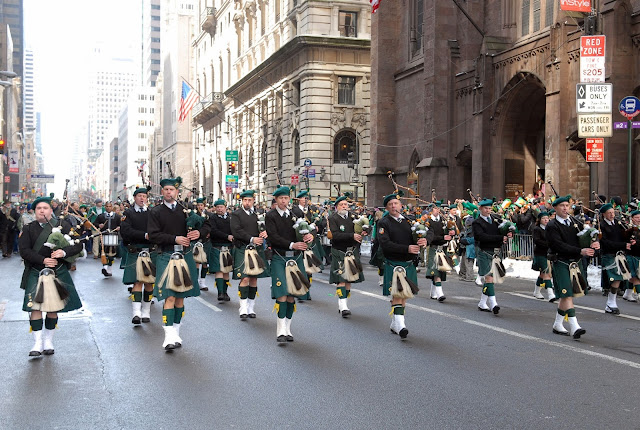 Desfile de San Patricio en Boston