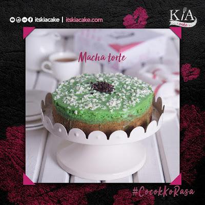Kia Cake Varian macha torte