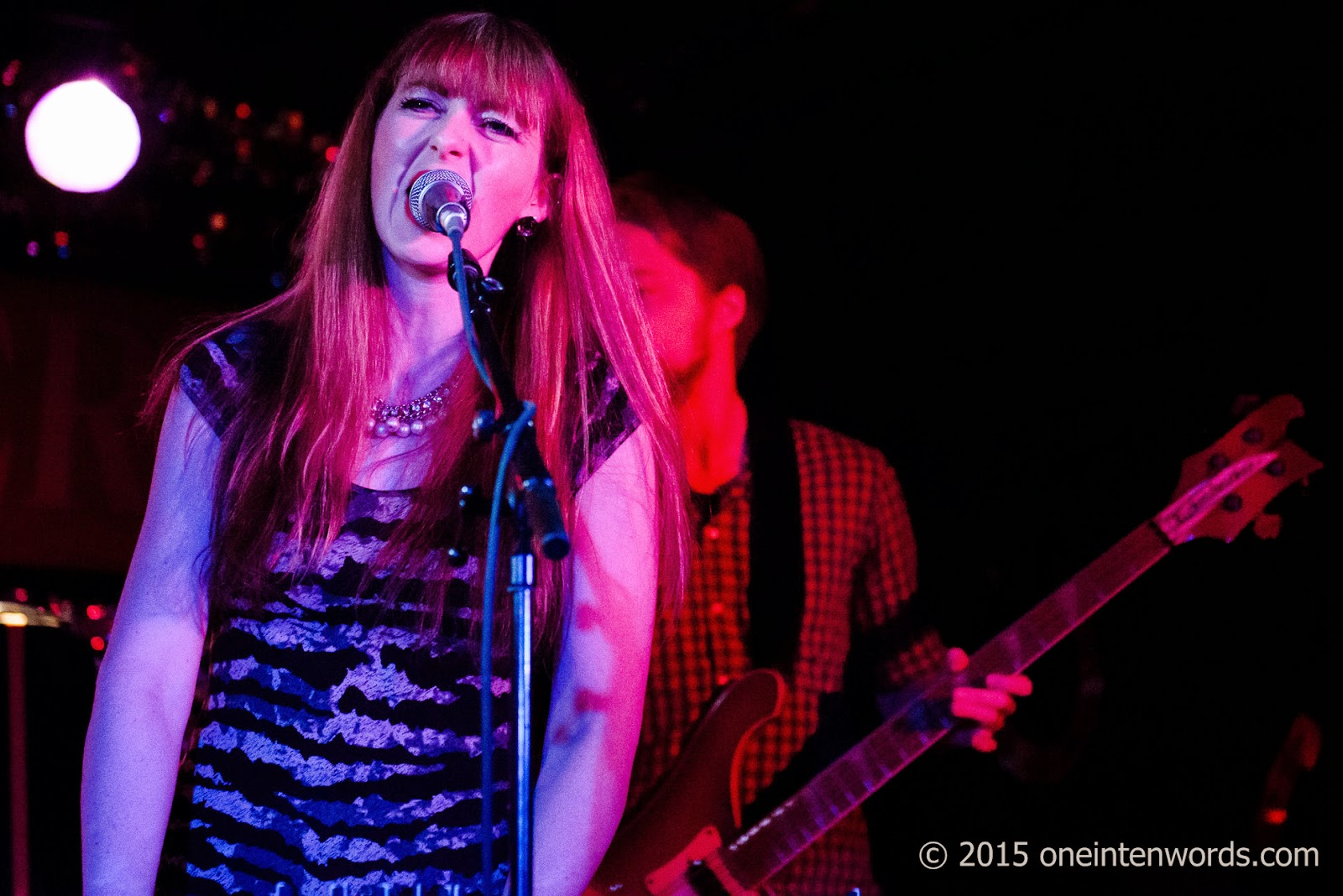 Bella Clava at The Horseshoe Tavern January 31, 2015 Photo by John at One In Ten Words oneintenwords.com toronto indie alternative music blog concert photography pictures