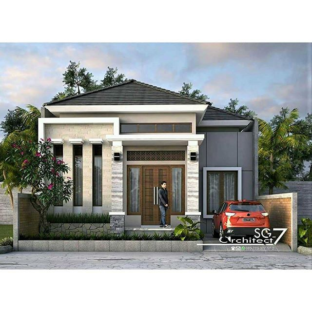 400 Gambar Desain Rumah Sederhana Dengan Biaya Murah HD Paling Keren Unduh Gratis