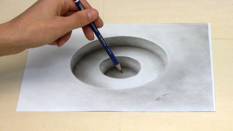 06-Simple-hole-Stefan-Pabst-3D-Art-www-designstack-co