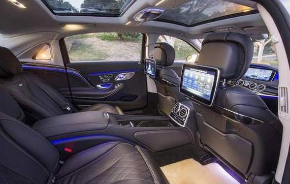 2018 Mercedes-Maybach GLS Price, Interior