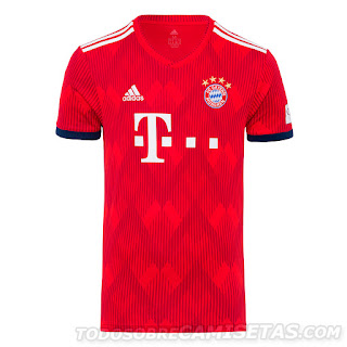 Bayern Munich 2018-19 Adidas Kit