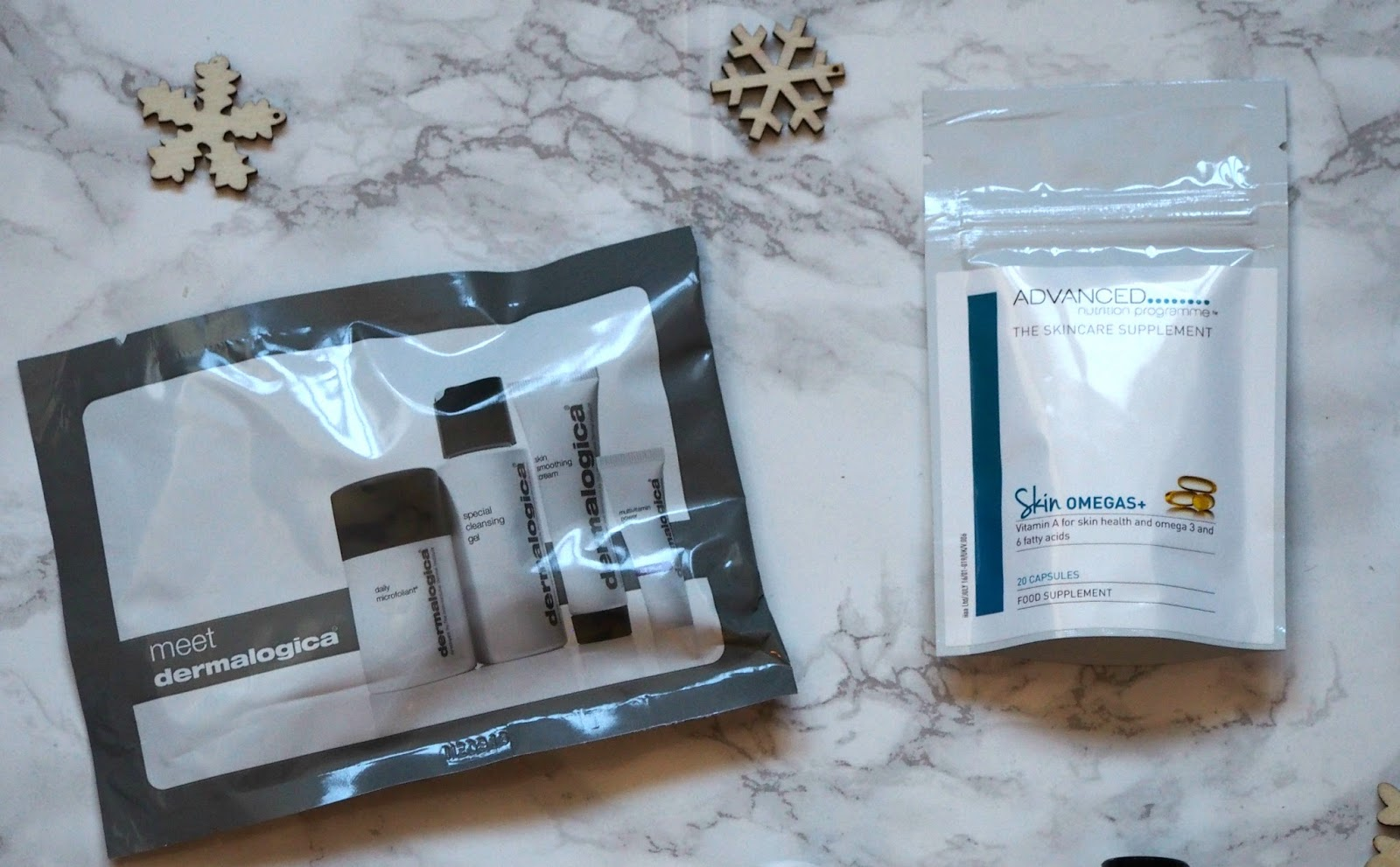Products from goodie bag