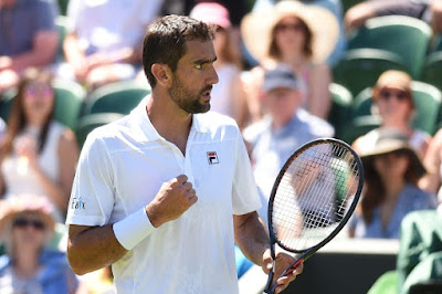 Wimbledon 2018: Third seed Marin Cilic zooms into second round