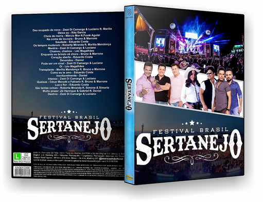DVD – Festival Brasil Sertanejo 2017 – ISO