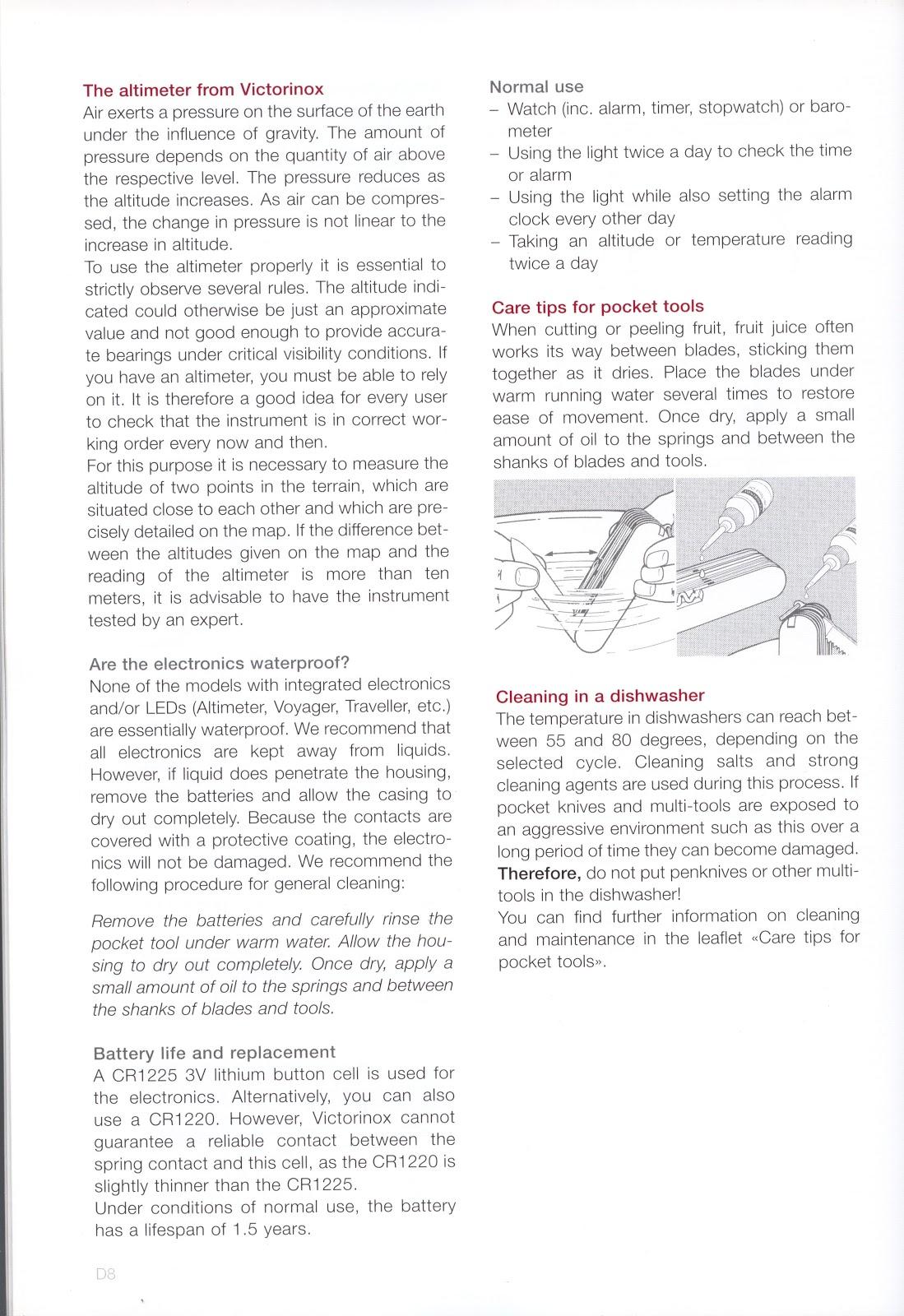 Jeroen S Victorinox Blog Blade Stampings Info