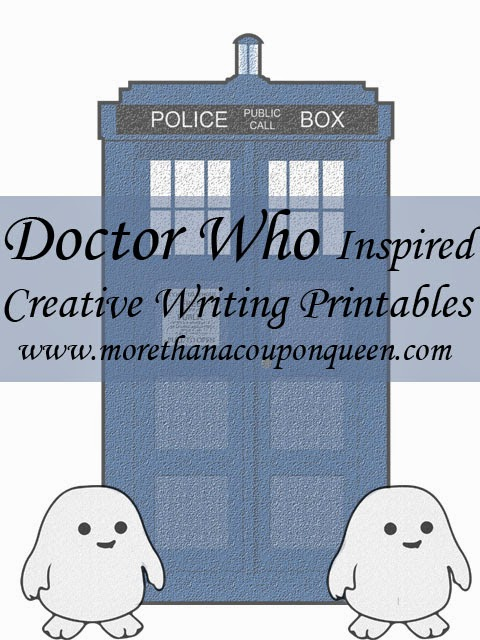 Free Doctor Who Inspired Creative Writing Printable Pack - This has some great ideas for fanfics too!