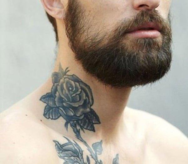 Erkekler İçin Boyun Dövmesi Tasarımları