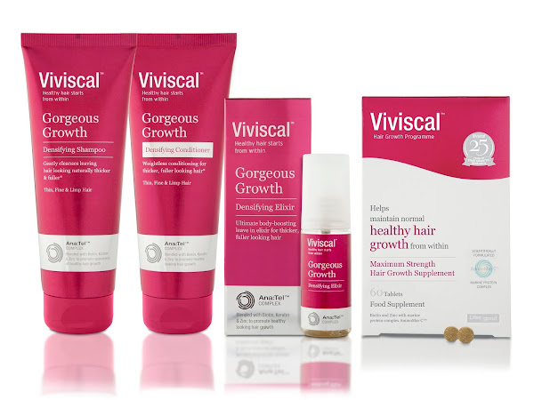 SOAK IT UP!  REPAIR POST-BEACH HAIR WITH VIVISCAL GORGEOUS GROWTH DENSIFYING CONDITIONER