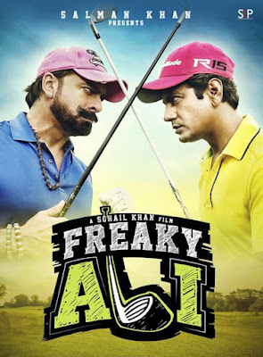 Poster Of Hindi Movie Freaky Ali 2016 Full HD Movie Free Download 720P Watch Online