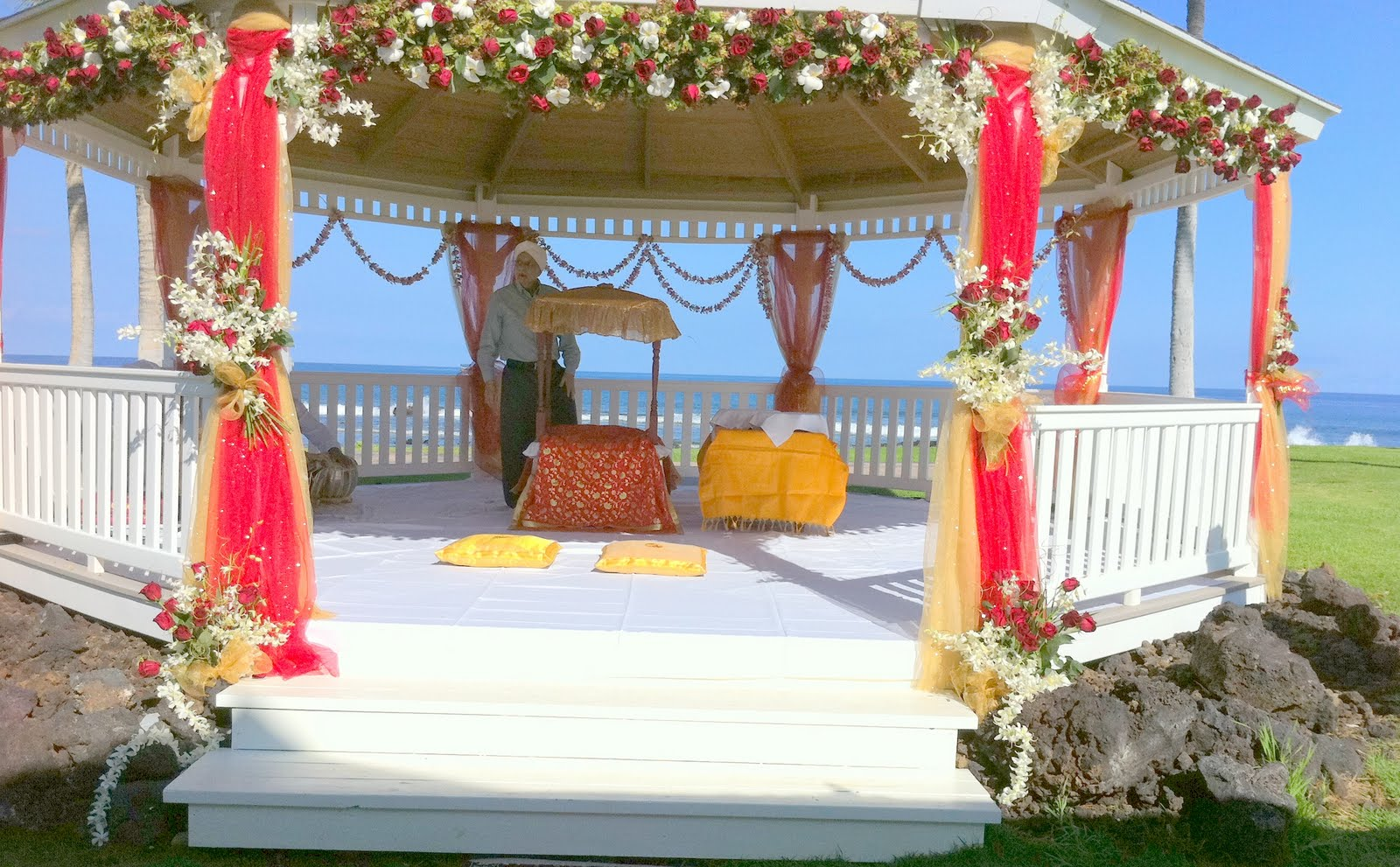 Indian Wedding At The Fairmont Orchid On Island Of Hawaii