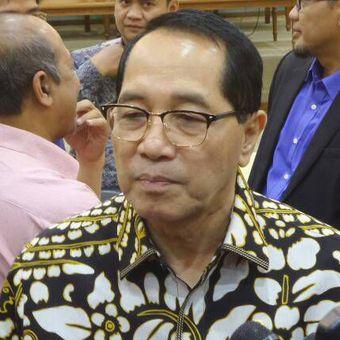 Wakil Ketua Badan Legislasi DPR RI Firman Soebagyo di Kompleks Parlemen, Senayan, Jakarta