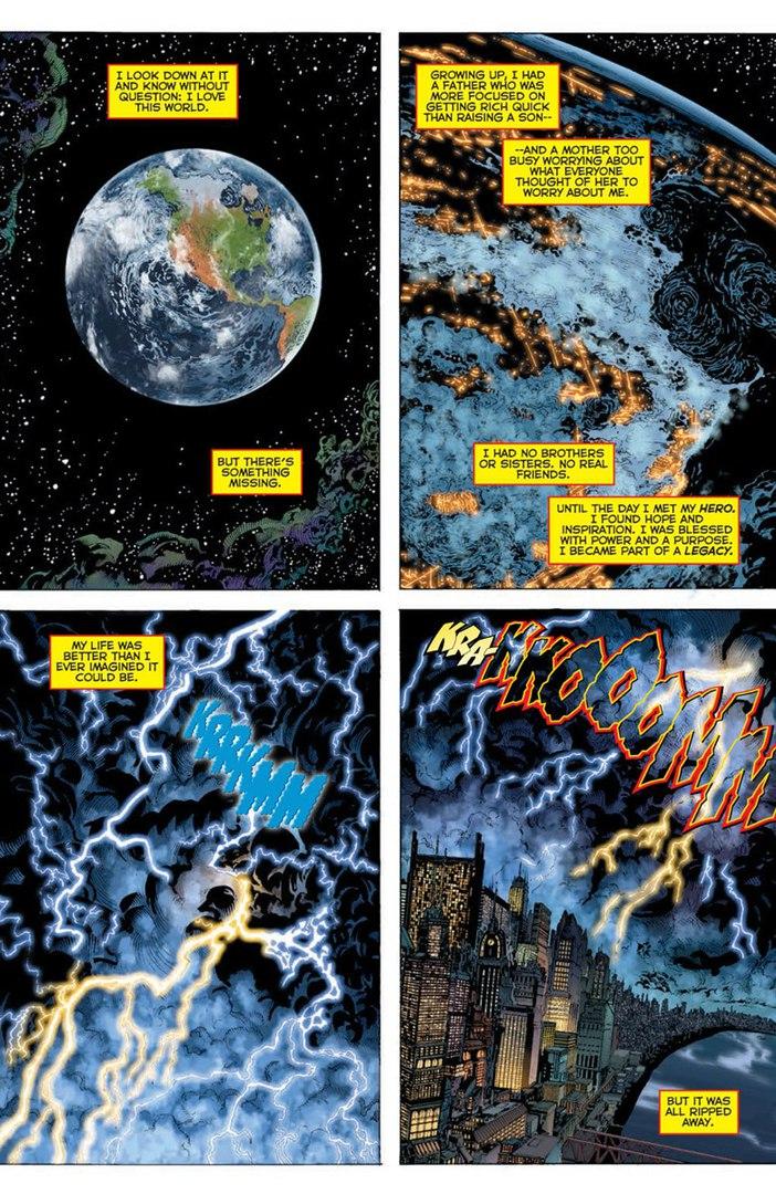 DC Universe: Rebirth #1