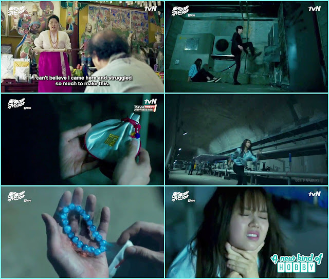 monk myung take the sward from the shaman to finsih Professor Joo evil spirit - Let's Fight Ghost - Episode 15 Review