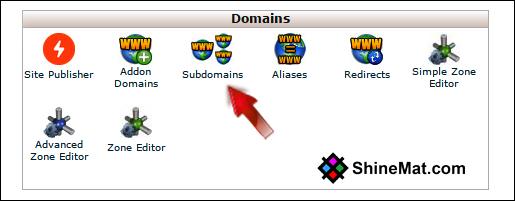 setup subdomain in blogger blog